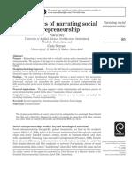 The politics of narrating social entrepreneurship.pdf