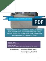 Proyectos de Inversion Carretera Juli