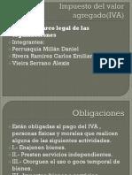Impuesto Del Valor Agregado(IVA)