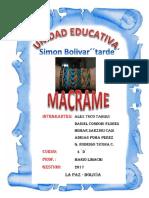 MACRAME 4 D
