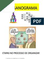 Aula - Organograma 2019