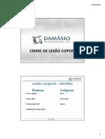 Material de Apoio - Prof. Luis Mileo - Direito Penal Especial