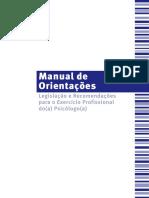 Manual de Orientações Do Exercicio Profissional