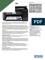 EcoTank ITS L6160 Datasheet