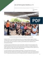 20-05-2019 - Beneficia XIII Jornada de Retinopatía Diabética a 13 municipios - Opinionsonora.com
