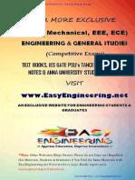 CE6605 - By EasyEngineering.net