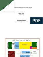 PLANOS DEL SERVICIO FARMACEUTICO Y UTILLAJE DE CADA AREA.docx