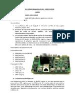 Introducción a La Ingeniería Del Computador