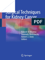 Surgical for Kidney Cancer 2018