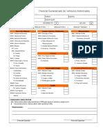 CheckList Generalizado de Vehiculos