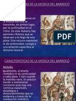 Caracteristicas de La Musica Del Barroco (1)