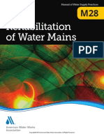 AWWA M28 Rehabilitation of Water Mains 3rd Ed 2014