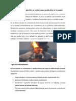 Degradación Del Petróleo en Los Derrames Producidos en Los Mares