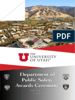 Awards program for University of Utah police department