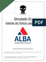 ALBA - SIMULADO 01 - Policial Legislativo - Eu_Na_Polícia