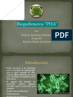Producción de Bioplástico PHA