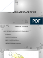 Posterior Approach of Hip ppt