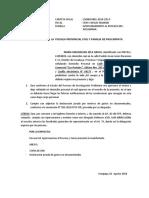 Apersonamiento a Fiscalia Maria Magdalena Zela Araca