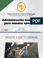 Administración de Inventarios Para Mandos Operativos