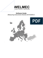 WELMEC Guide 7.2 Software Guide 2018
