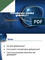 Globalizare INTRO