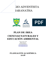 Plan de Area de c. Naturales