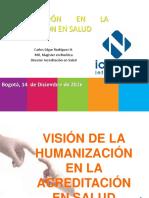 Humanización y Acreditación en Salud