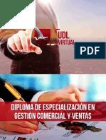 Brochure Gestión Comercial Ventas