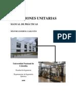 Operaciones Unitarias - Guias Practicas Nestor Gooding Garavito