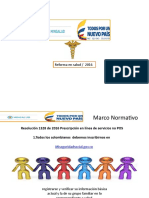 Normatividad en Salud Rethus - MI pres