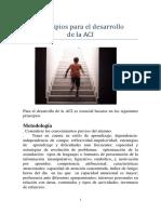 Principios Para El Desarrollo de La Adaptación Curricular