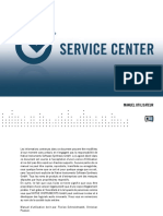 Service Center Manual French