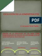 2016B DIAPOSITIVA Nº 3 EVOLUCIÓN DE LA ADMINISTRACIÓN I (1).ppt