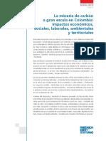 Impacto de la Minería del Carbón en Colombia