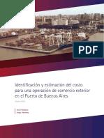 Costo de Una Operacion en El Puerto de Buenos Aires