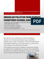 Indoor Air Pollution From Biomass Cookstoves in Rural Tecnologias