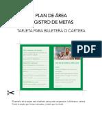 Metas– Plan de Área 2019 (Webprint)