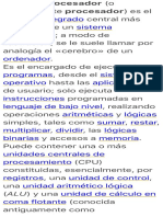 El microprocesador (o simplemente procesador) es el circuito integrado….pdf