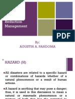 Disater Risk Reduction Management