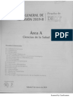 Examen de Admisión UNMSM 2019 II - Área A.pdf