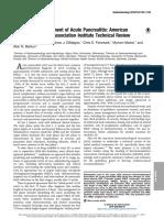 Gastroenterological Association Institute Technical Review 2018
