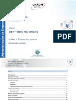 Unidad 1. Economia y turismo. Contenido nuclear.pdf