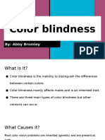 color blindness- abigail bromley