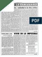Vivir en Lo Imposible de José Cruset