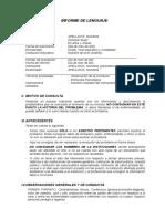 1. Informe de Lenguaje - Guía y Esquema