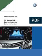 Volkswagen Touareg Self-study Programme 470 - Electrics, Electronics