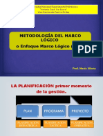 Marco Lógico Proyecto Social Maria Viloria 2011