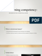 Learning Competency