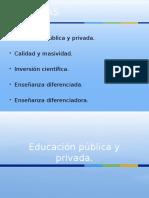 82522366 Educacion Publica y Privada