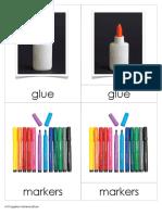 Art Supplies Nomenclature
